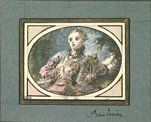 Pierre-Antoine Baudouin, dessinateur du libertinage au XVIIIe siècle M5035010
