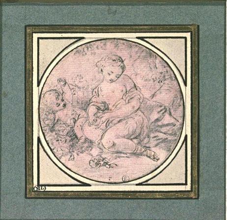 Pierre-Antoine Baudouin, dessinateur du libertinage au XVIIIe siècle M5035011
