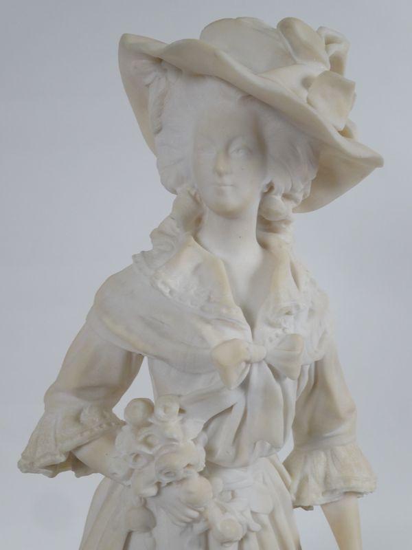 Marie-Antoinette par Jacques Boéro, statues et statuettes Ma11