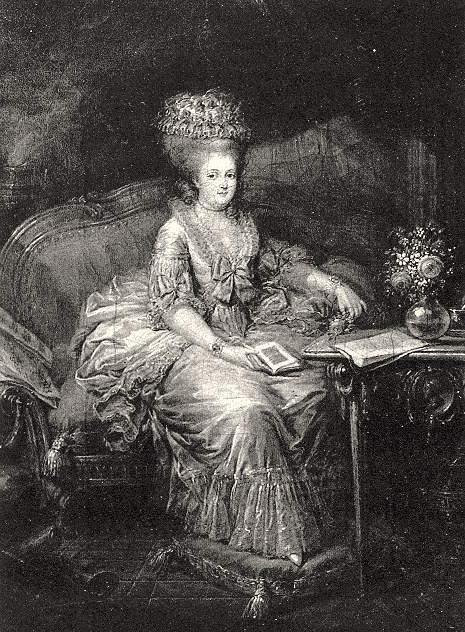Portraits de Marie-Antoinette et de la famille royale par Charles Le Clercq - Page 3 Madame10