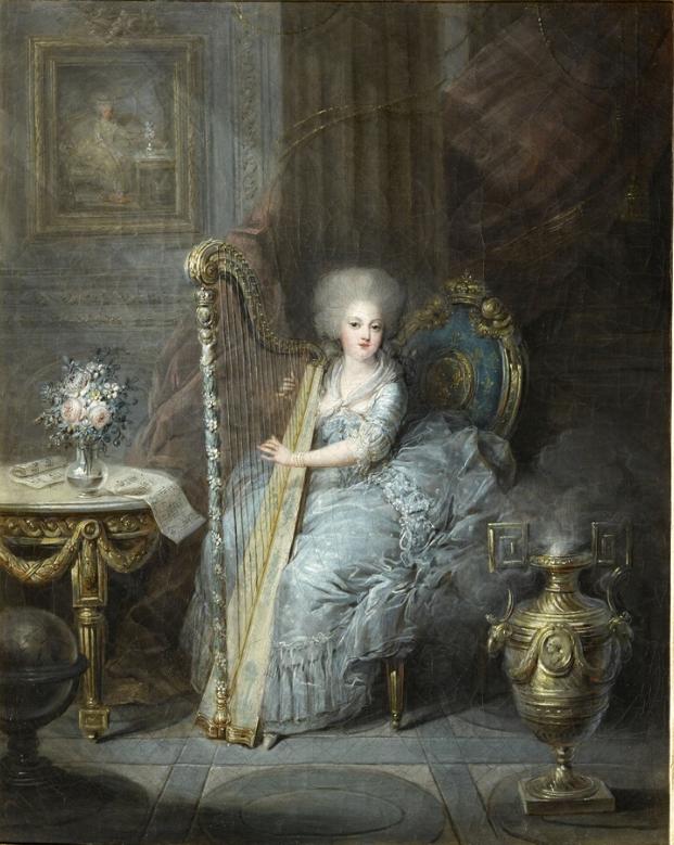 Portraits de Marie-Antoinette et de la famille royale par Charles Le Clercq - Page 3 Madame11