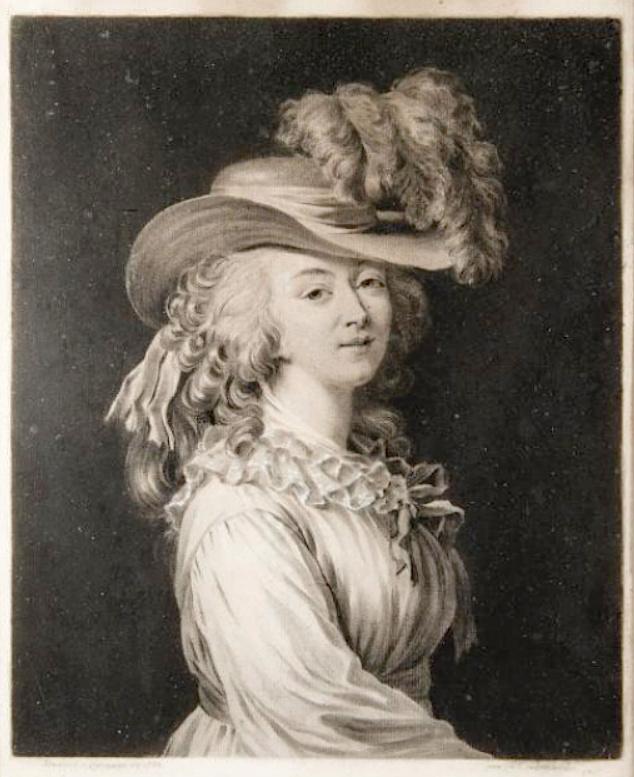 Portraits de la comtesse du Barry par (et d'après) Elisabeth Vigée Le Brun Madame12