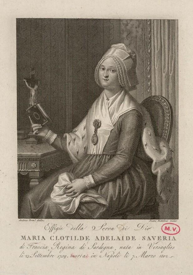 """La princesse Clotilde de France, dite Madame Clotilde, """"Gros Madame"""" Madame26"""