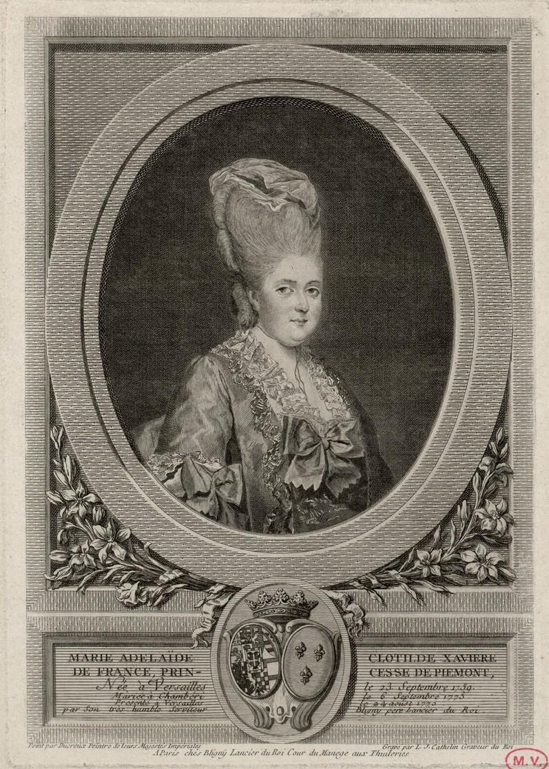 """La princesse Clotilde de France, dite Madame Clotilde, """"Gros Madame"""" Madame27"""