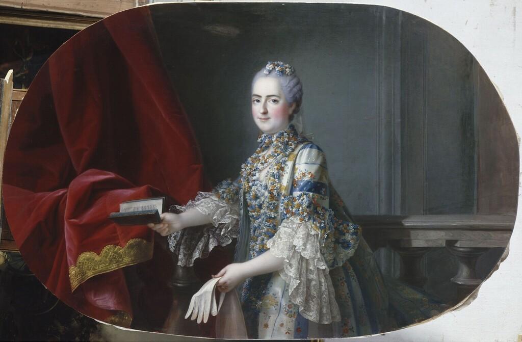 fredou - Portraits de Marie-Antoinette et de la famille royale, par Jean-Martial Frédou Madame31