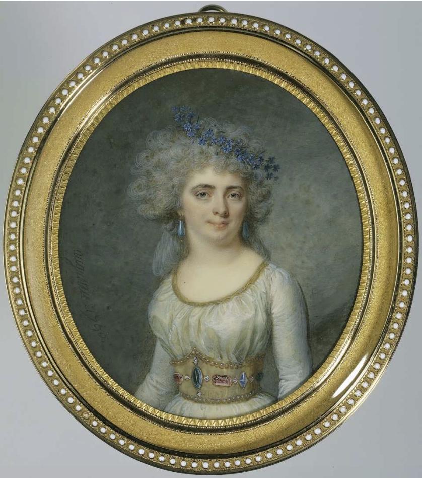 Jean-Baptiste-Jacques Augustin, peintre miniaturiste Mademo13