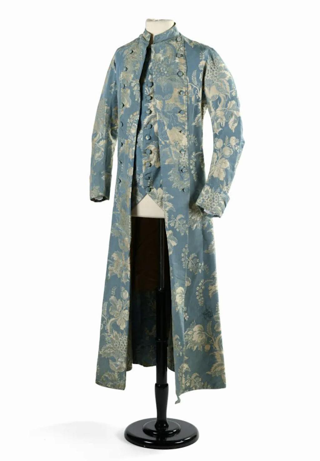Manteau d'intérieur et robe de chambre pour les hommes au XVIIIe siècle - Page 2 Mantea10