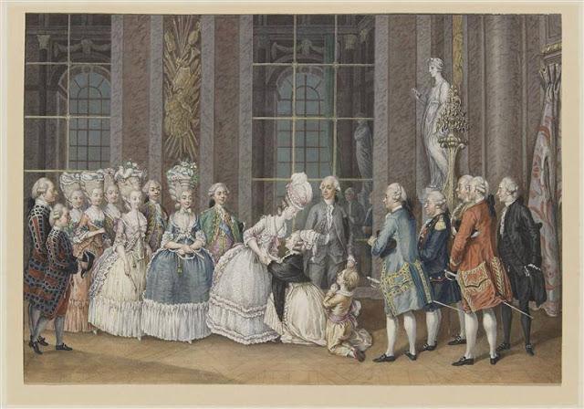 Marie-Antoinette par Charles-Henri des Fossés (Desfossés) ou Desfossez Maria-12