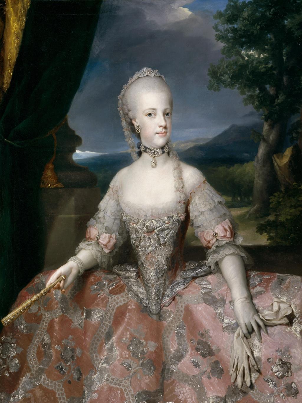Portraits de Marie Caroline d'Autriche, reine de Naples et de Sicile Maria-14
