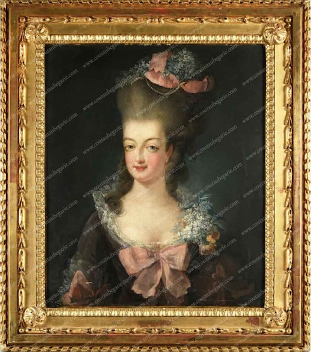 Gravures : Portraits de Marie Antoinette par Jean-François Janinet, d'après Dagoty Marie-13