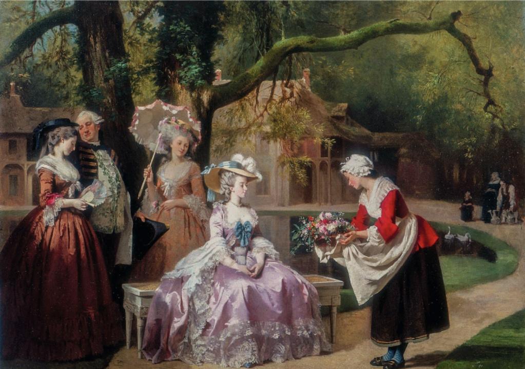 Portraits de la reine Marie-Antoinette à Trianon  - Page 4 Marie-15
