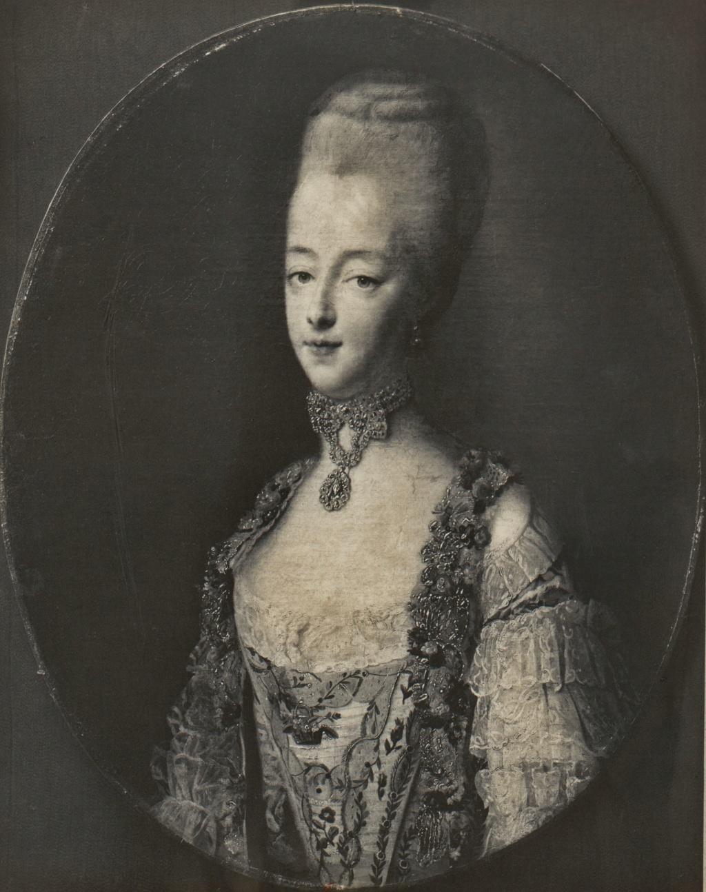 Portraits de Marie-Antoinette par et d'après François-Hubert Drouais Marie-36