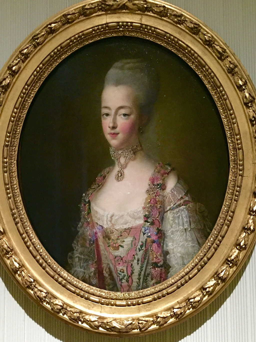Tapisseries des Gobelins, atelier Cozette : collection de portraits, dont ceux de Marie-Antoinette Marie-39