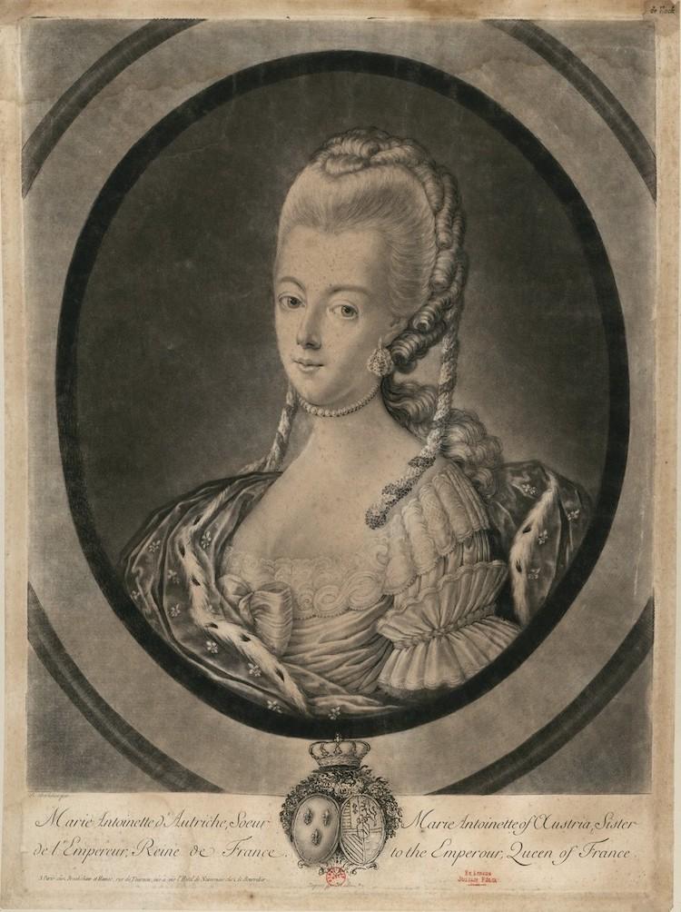 Portraits de Marie-Antoinette : les gravures, estampes, mezzotintes, aquatintes etc.  - Page 3 Marie-51