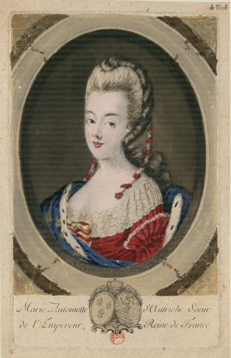 Portraits de Marie-Antoinette : les gravures, estampes, mezzotintes, aquatintes etc.  - Page 3 Marie-52