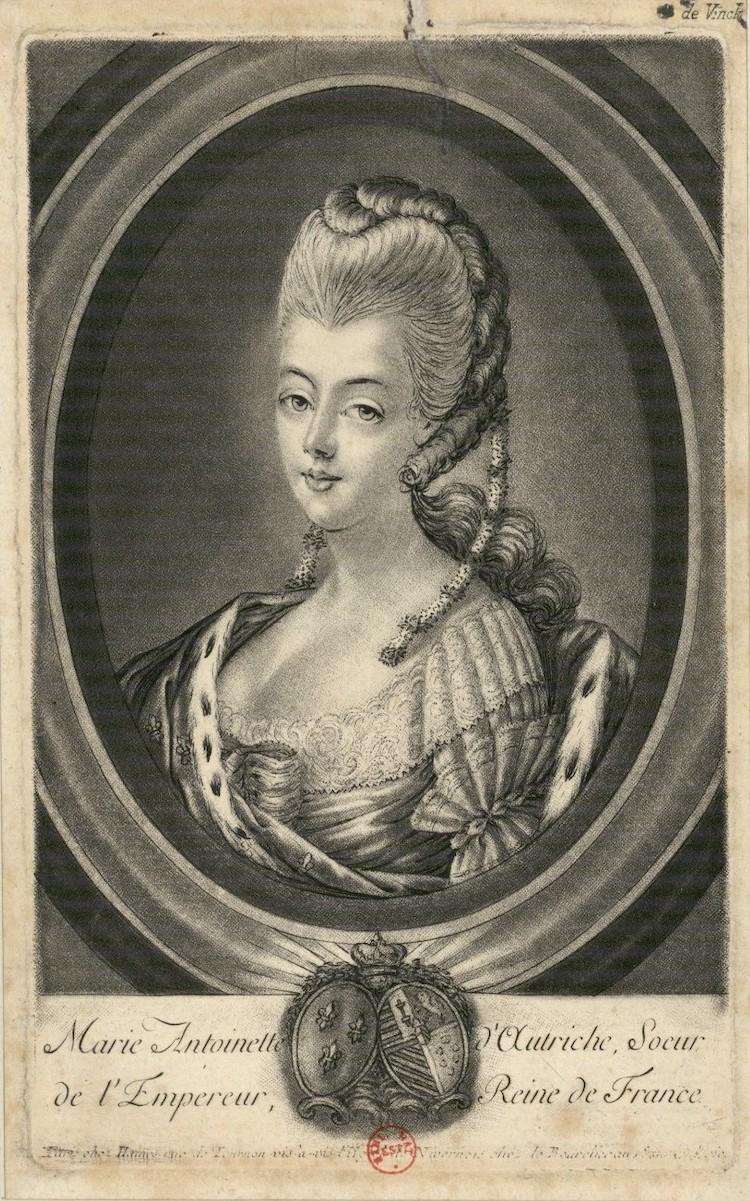 Portraits de Marie-Antoinette : les gravures, estampes, mezzotintes, aquatintes etc.  - Page 3 Marie-53