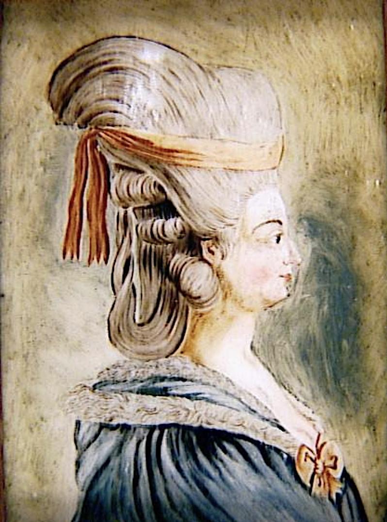 La peinture sous / sur verre chinoise au XVIIIe siècle Marie-65