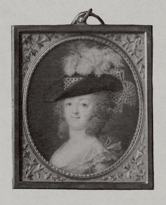 Portraits de Marie-Antoinette et Louis XVI, par Louis-Marie Sicard, dit Sicardi ou Sicardy Marie-79