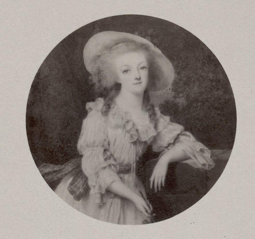 Portraits de Marie-Antoinette et Louis XVI, par Louis-Marie Sicard, dit Sicardi ou Sicardy Marie-80