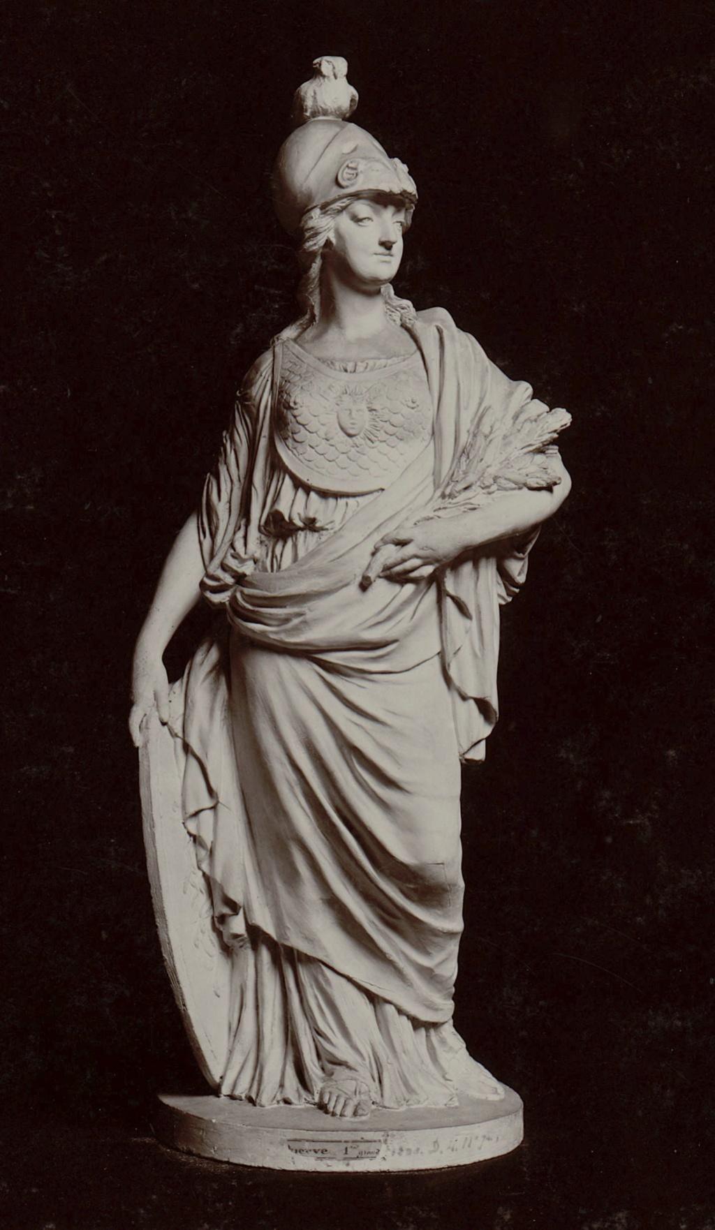 Marie-Antoinette en Minerve, par Josse-François-Joseph Le Riche  Marie-87