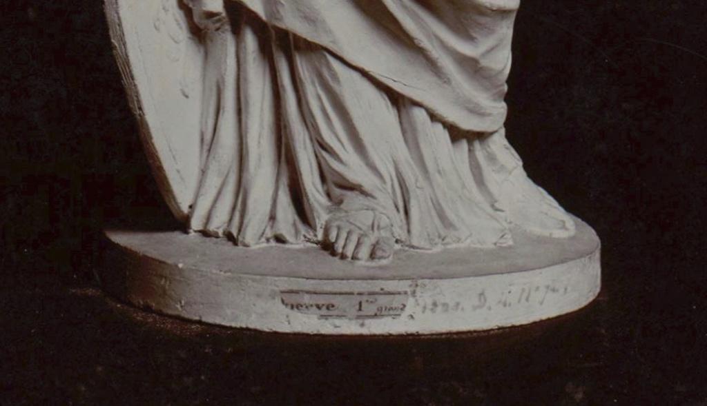 Marie-Antoinette en Minerve, par Josse-François-Joseph Le Riche  Marie-88
