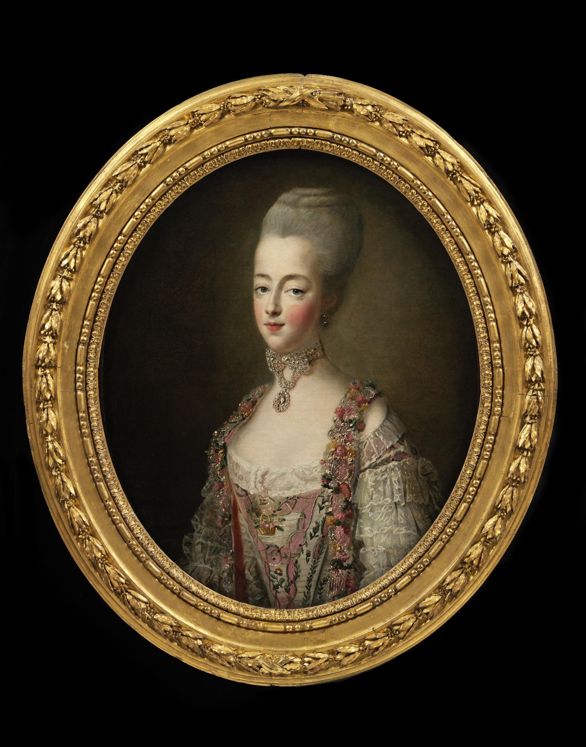 Portraits de Marie-Antoinette par et d'après François-Hubert Drouais Marie-98