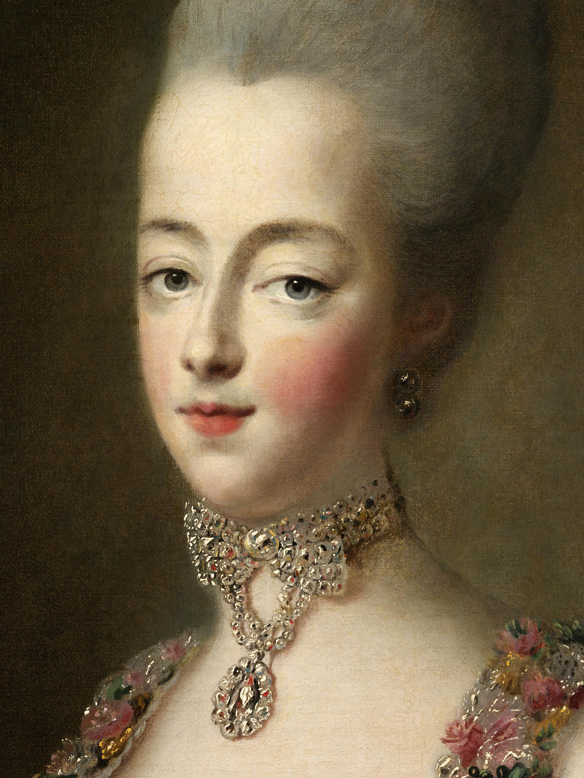 Portraits de Marie-Antoinette par et d'après François-Hubert Drouais Marie-99