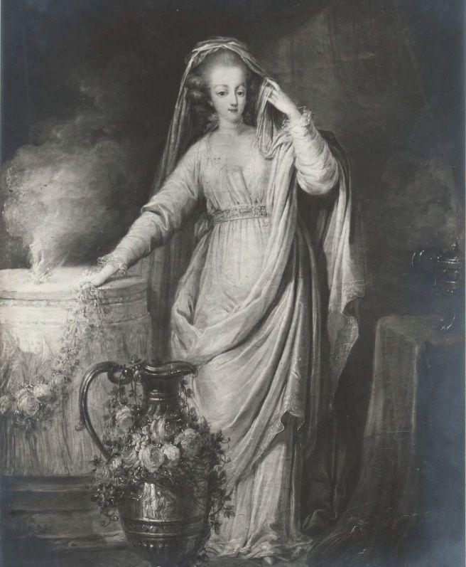 Portraits de Marie-Antoinette et de la famille royale par Charles Le Clercq - Page 3 Marie110