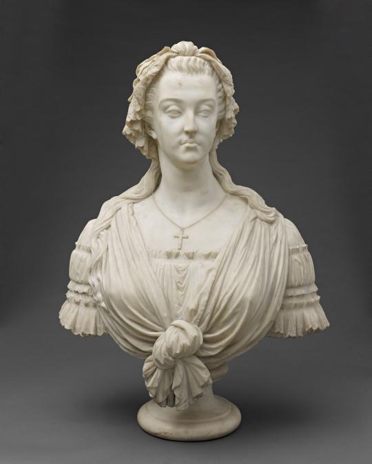 Bustes de Marie-Antoinette par la duchesse Castiglione-Colonna, Adèle d'Affry, dite Marcello Marie113