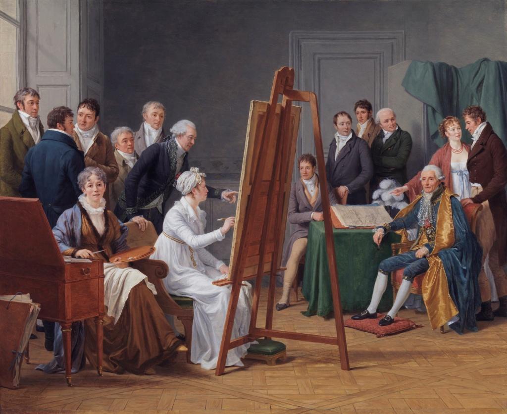 Le peintre François-André Vincent - Page 2 Marie160