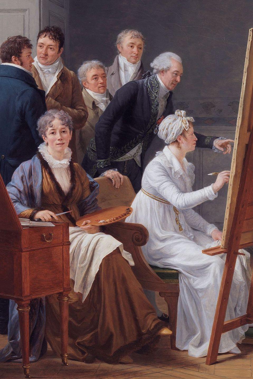 Le peintre François-André Vincent - Page 2 Marie161