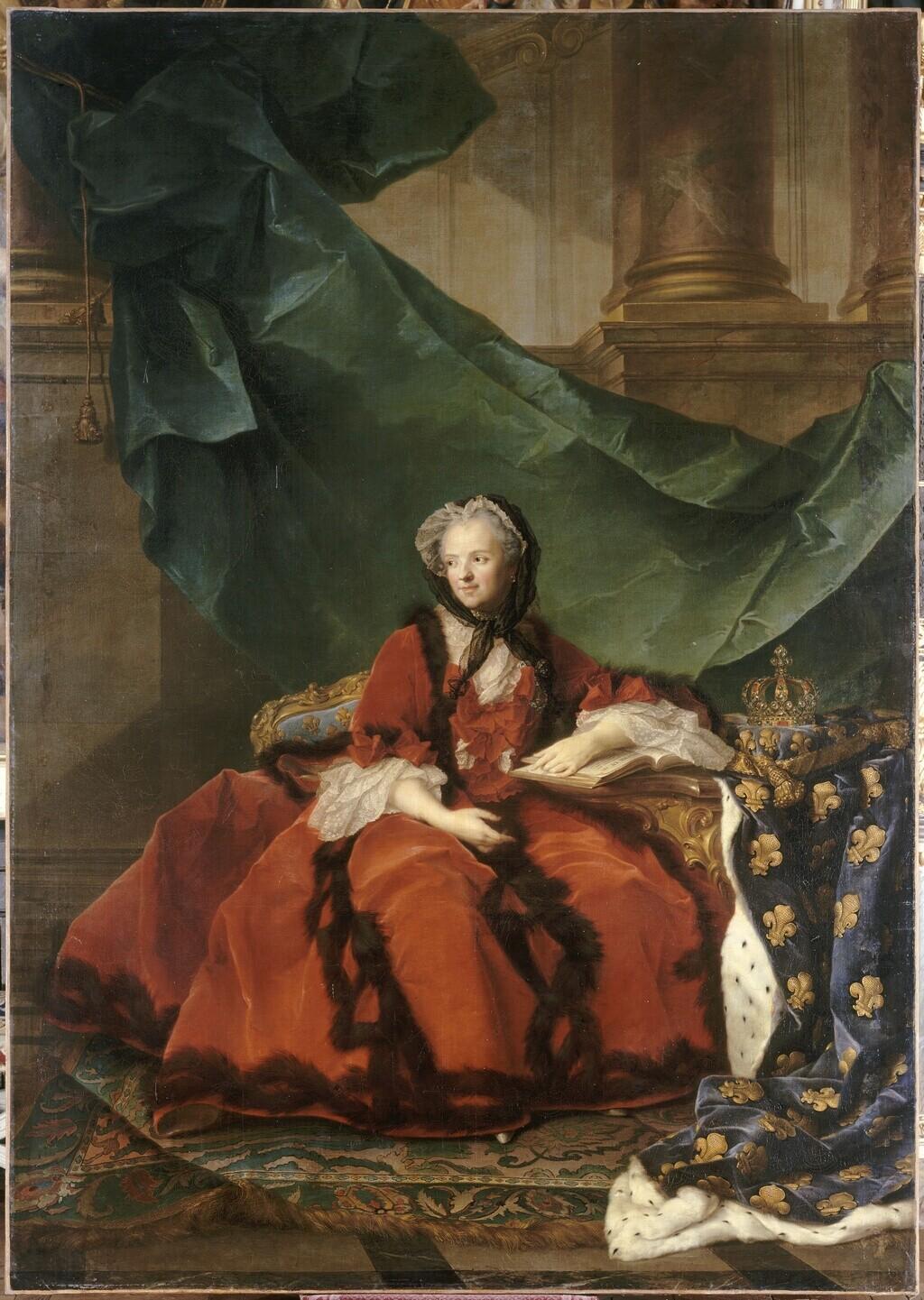 La reine Marie Leszczynska - Page 2 Marie_51