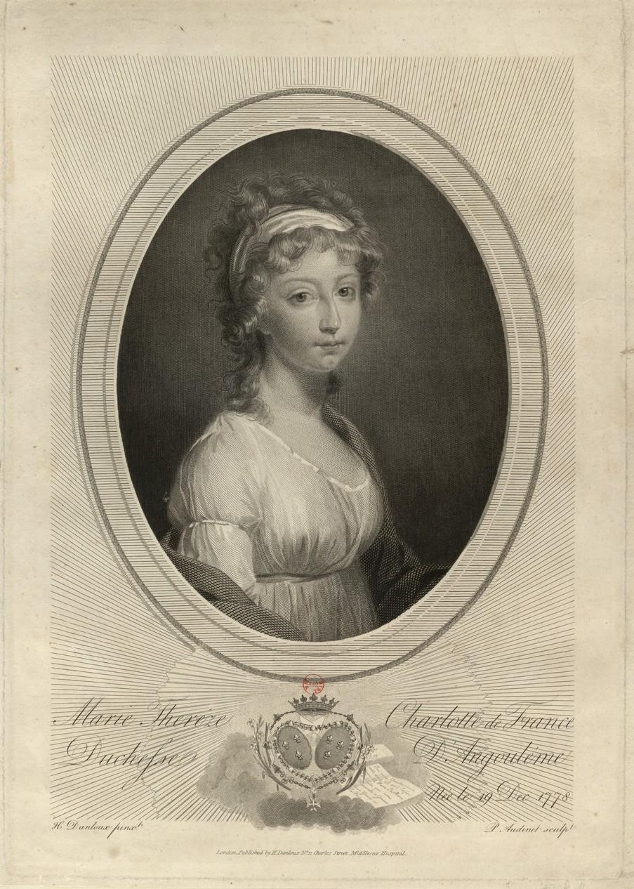 Portraits de Madame Royale, duchesse d'Angoulême - Page 5 Marie_63