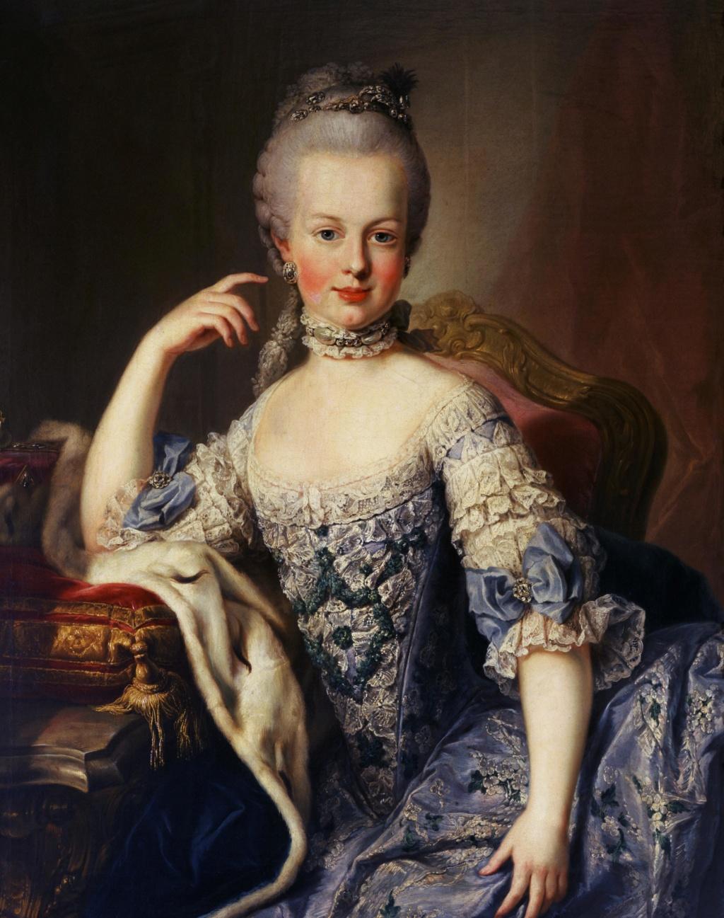 Portrait de Marie-Antoinette ou de Marie-Josèphe, par Meytens ? Marie_79