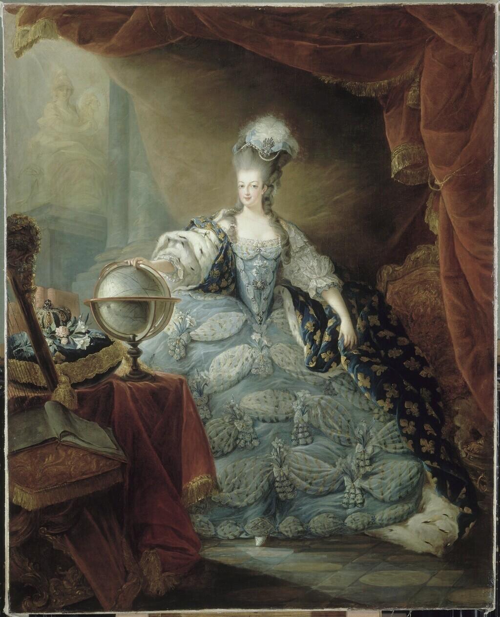 Gravures : Portraits de Marie Antoinette par Jean-François Janinet, d'après Dagoty Marie_99