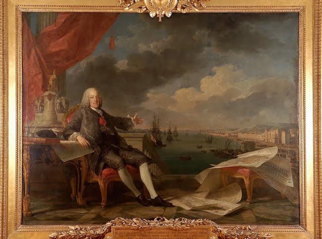 Le tremblement de terre de Lisbonne, 1755. Marque10