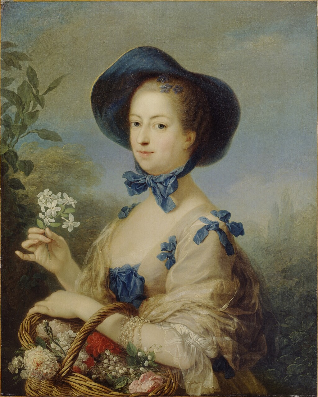 "Madeleine-Françoise Basseporte (1701-1780), première femme "" Peintre du jardin du Roi "" Marqui11"