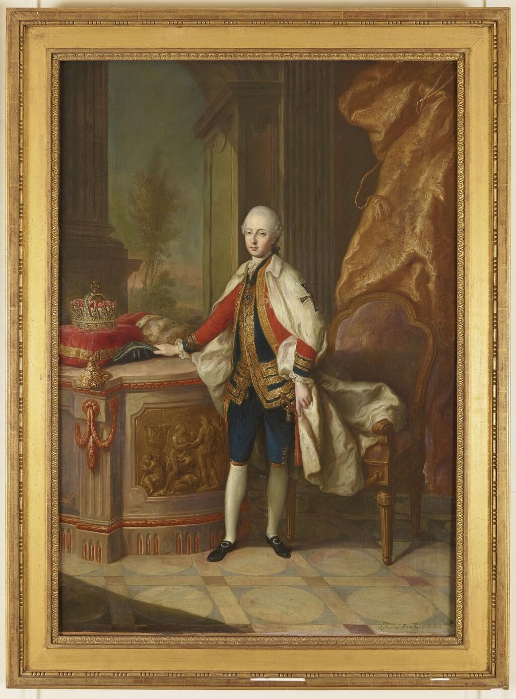 Les visites des archiducs Maximilien et Ferdinand d'Autriche, à Versailles Maximi10