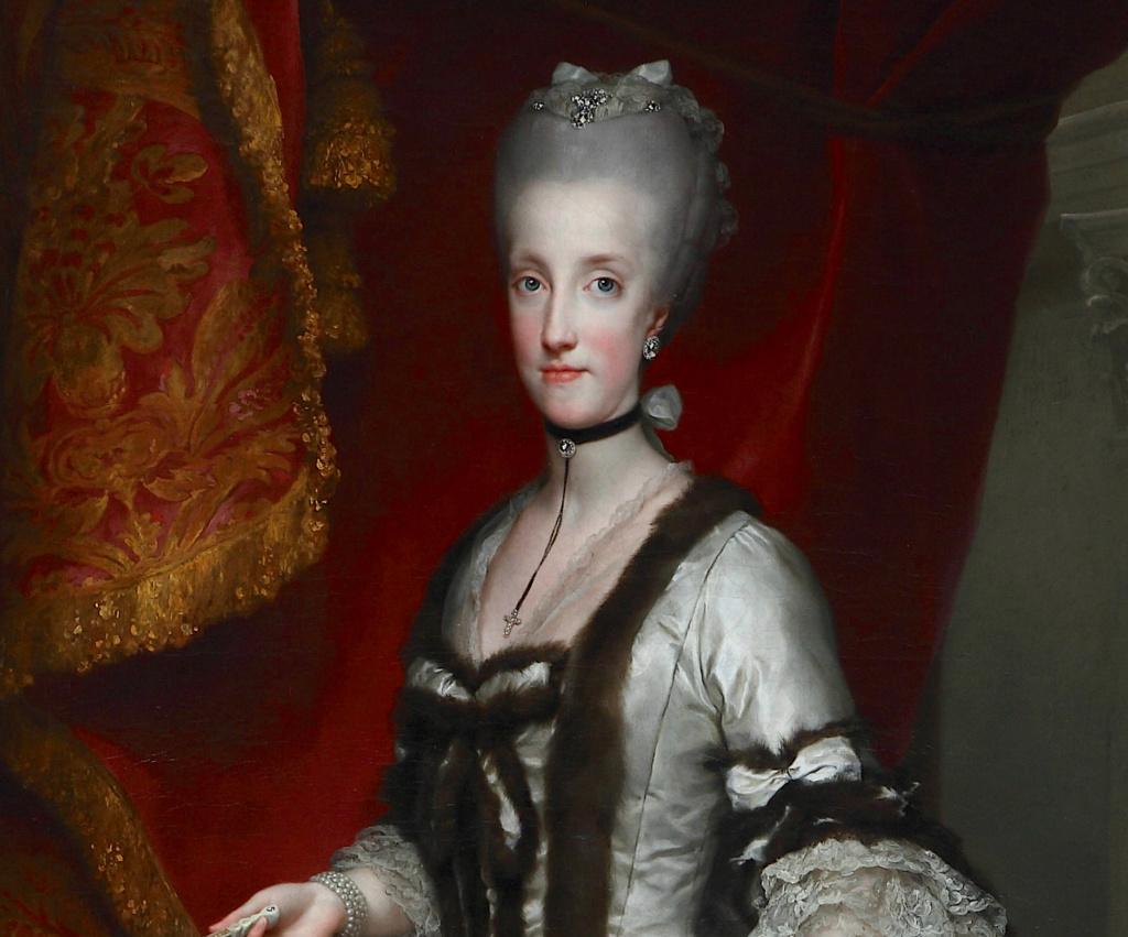 Portraits de Marie Caroline d'Autriche, reine de Naples et de Sicile - Page 3 Mengs_10