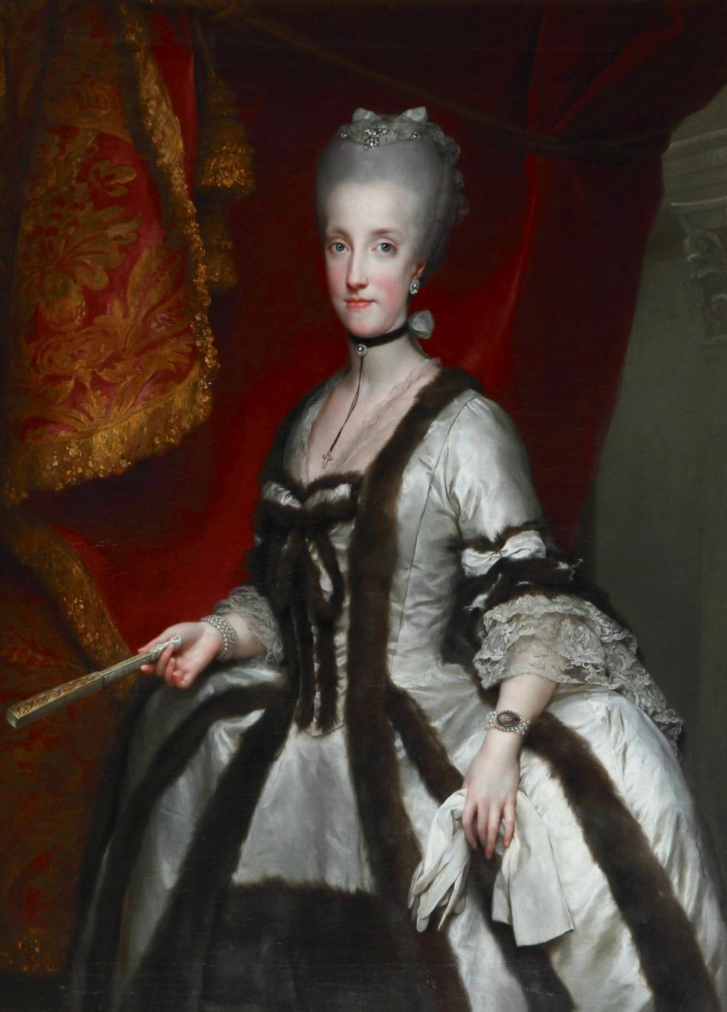 Portraits de Marie Caroline d'Autriche, reine de Naples et de Sicile - Page 3 Mengs_11