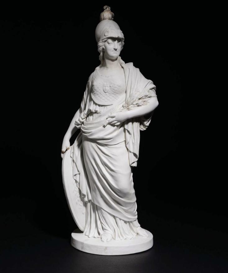 Marie-Antoinette en Minerve, par Josse-François-Joseph Le Riche  Minerv10