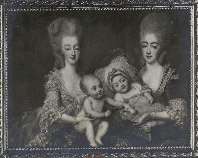 Marie Antoinette, miniatures attribuées à ou d'après François Dumont - Page 2 Miniat12
