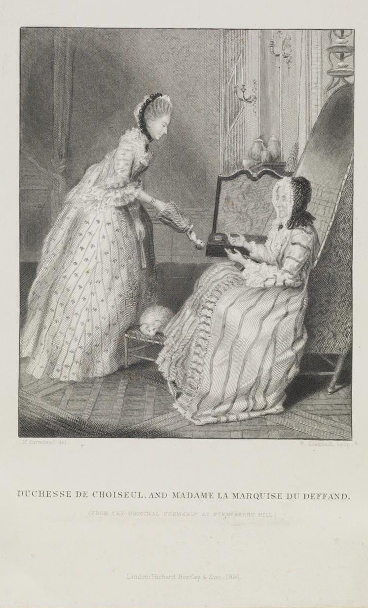 Marie de Vichy-Chamrond (ou Champrond), marquise du Deffand - Page 3 Mme-du10