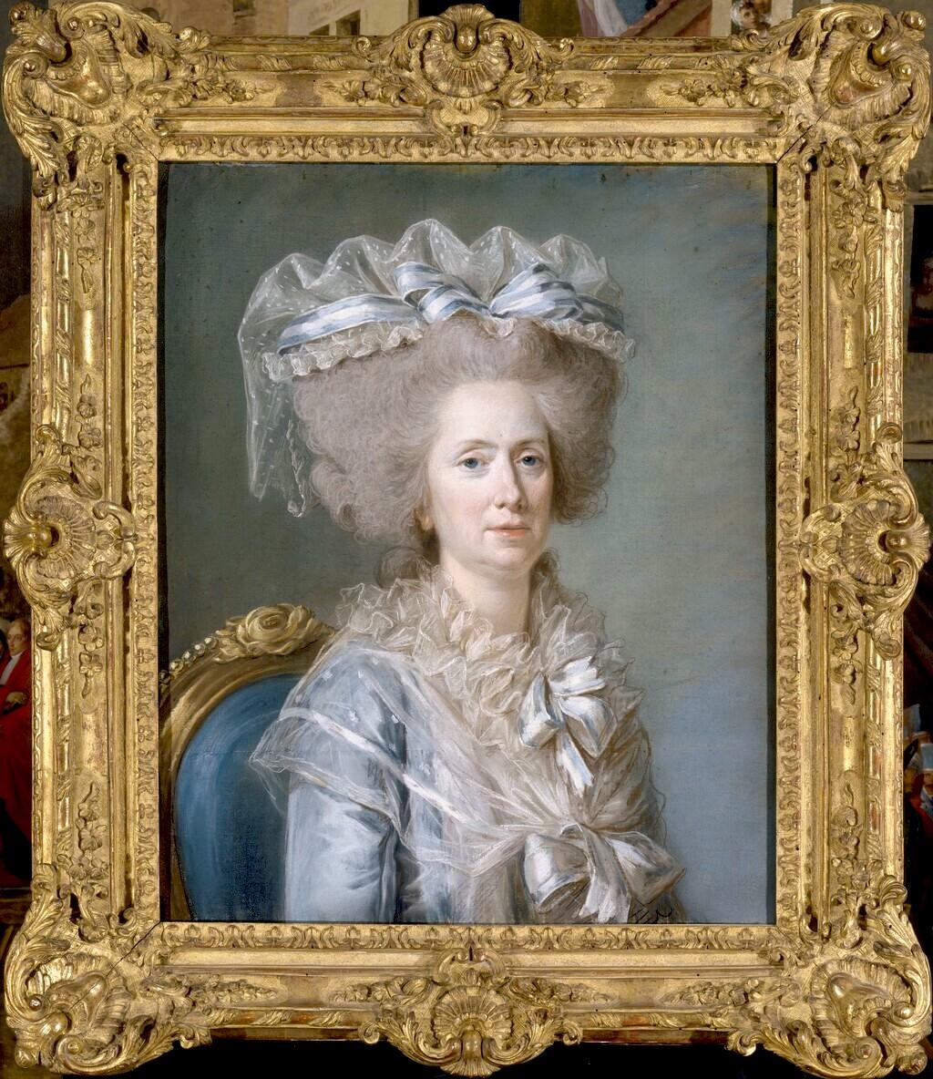 Adélaïde Labille-Guiard, peintre de Mesdames Mme_ad13