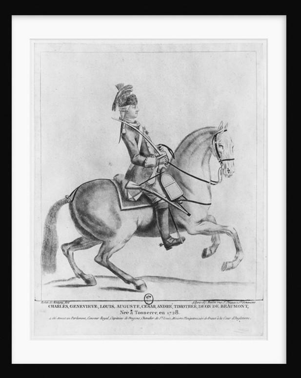 Série d'estampes : portraits équestres de Robin de Montigny  Mus-fa10
