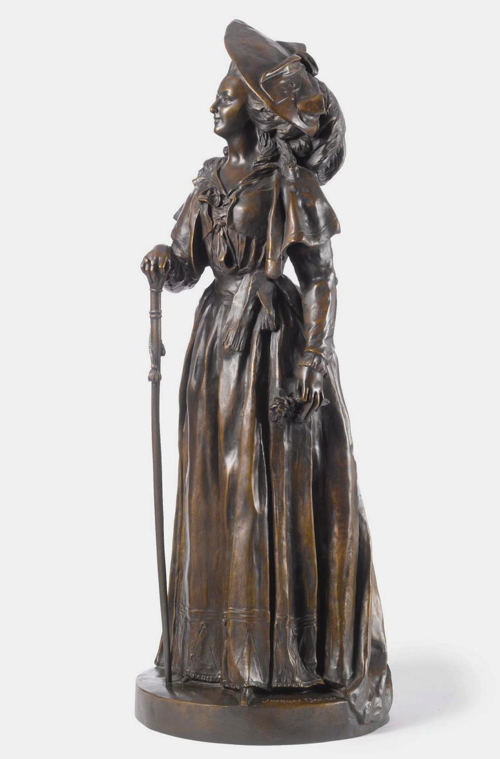 Marie-Antoinette par Jacques Boéro, statues et statuettes N0850810