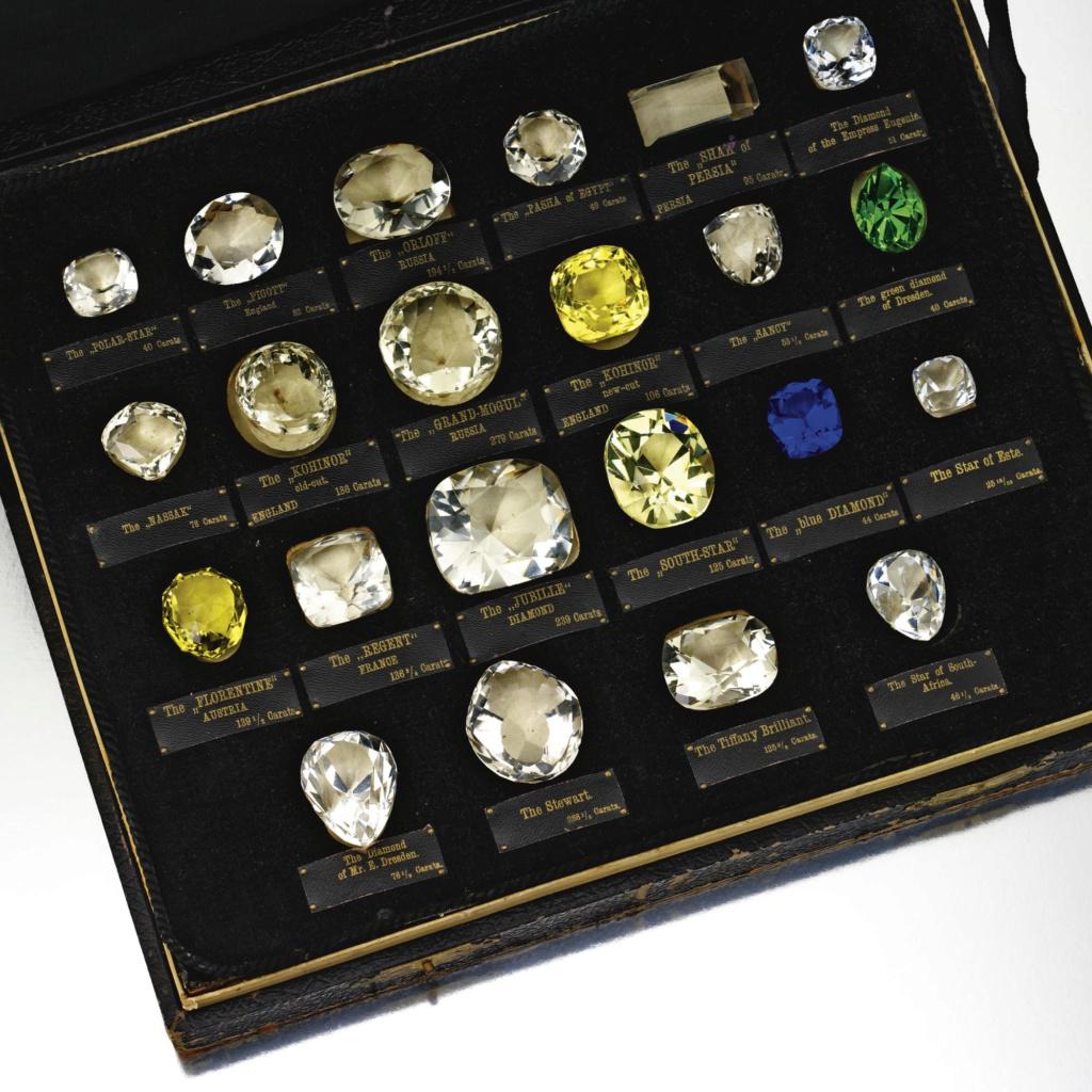 Les diamants les plus célèbres de l'Histoire N0861210