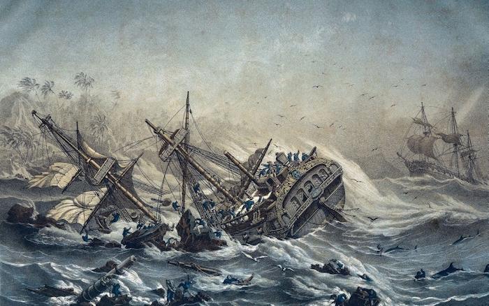 Jean-François de la Pérouse et l'expédition Lapérouse - Page 3 Naufra10