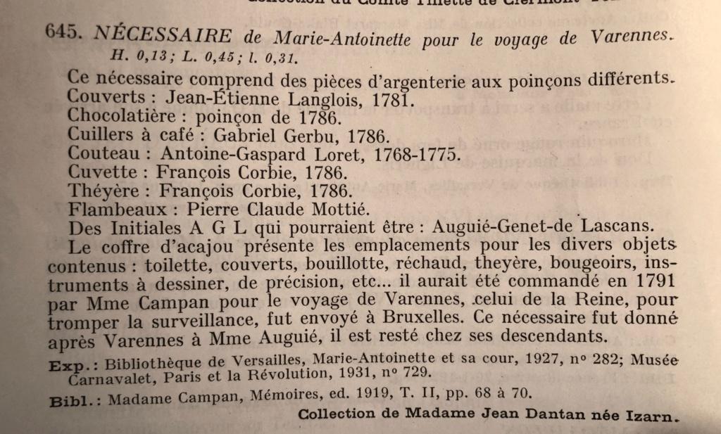 Nécessaires - Les nécessaires de voyage de Marie-Antoinette - Page 2 Neaces10