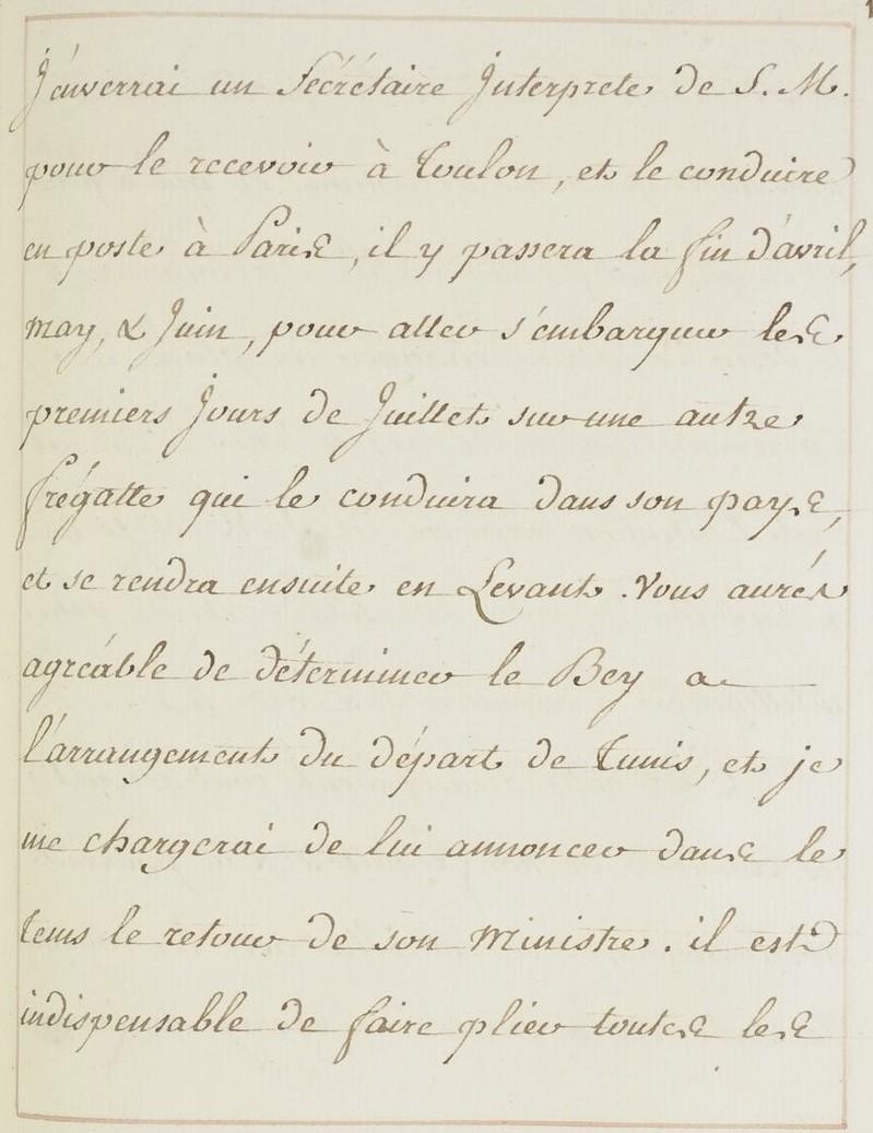 L'ambassade du Bey de Tunis à Versailles (1777) O_jour21